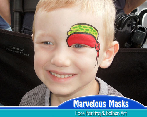 Ninja Turtle Eye Fast Chicago Face Painting