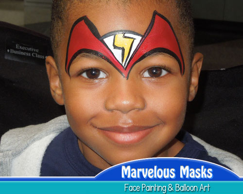 The Flash Fast Chicago Face Painting