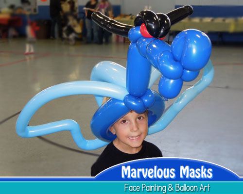 Dragon Balloon Hat