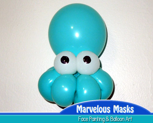 Octopus Balloon Animal