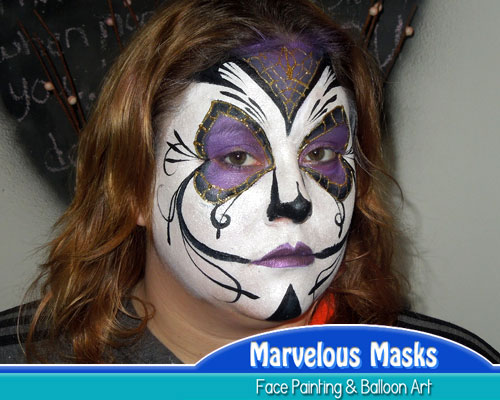 Sugar SkullHalloween Face Painting